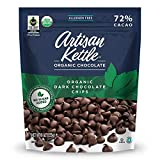 Artisan Kettle Organic No Sugar Added Dark Chocolate Chips, 9 Oz