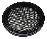 Audioproject A315 - Griglia per altoparlante DIN da 130 mm, anello in plastica con griglia in metallo, colore: Nero