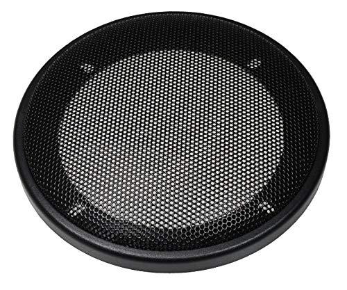 Audioproject A315 - Lautsprecher Gitter für 130mm DIN Lautsprecher Kunststoffring mit Metallgitter schwarz