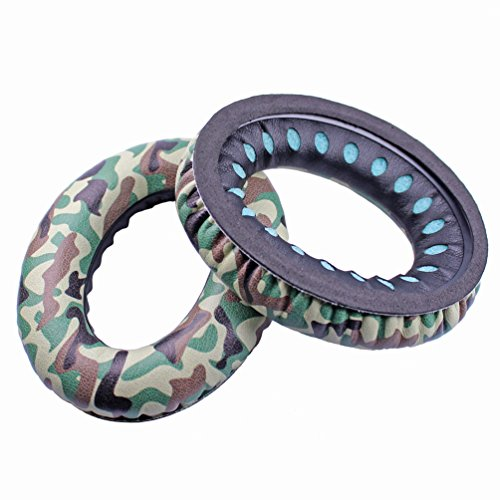 Bingle Ear Pads Replacement for Bose Headphones QC25 QC35 Ae2, Ae2i, Ae2w Quiet Comfort 25, Camo
