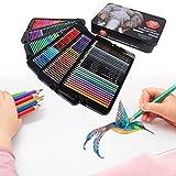 Lápiz de color profesional, Lápices de colores portátiles, Niños para dibujar Adultos Niños