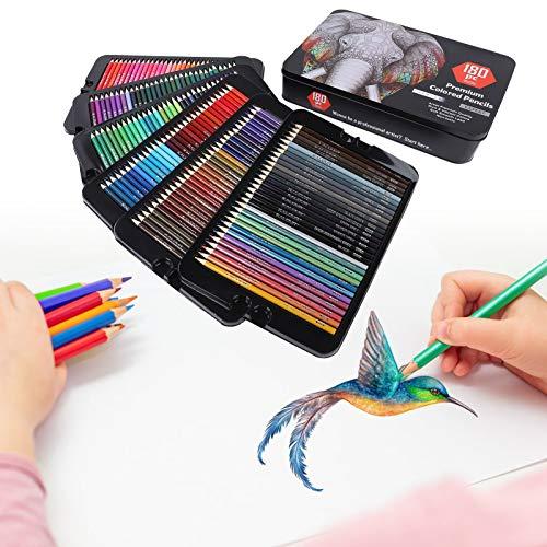 Lápiz de color profesional, lápices de colores, 108 piezas para niños, niños, adultos, dibujo
