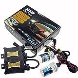 Sipobuy JINYJIA 12V 55W Xenon HID Conversion Kit de Phare pour le Remplacement pour Véhicules Ampoule, H7 6000K