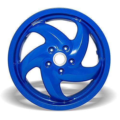 Piaggio - Llanta trasera azul apta para Gilera Runner 50 ccm
