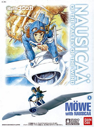 Maquette Möwe with Nausicaä \
