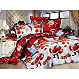 Islander Fashions Housse de Couette Xmas P�re No�l Royal Santa Literie avec Taies...