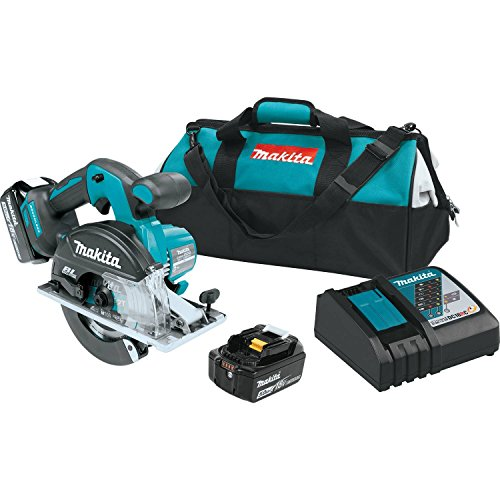 Makita XSC02T 5.0 Amp 18V LXT Lithium-Ion Brushless Cordless 5-7/8' Metal Cutting Saw Kit