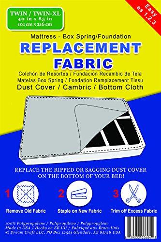 Cama el polvo–batista–tela de gamuza de fondo/de repuesto para parte inferior de colchón caja primavera o base