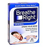 Breathe Right Nasal Strips Original Tan, Small/Medium 30 ct by Breathe Right