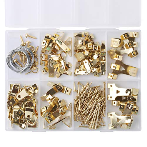 Mr. Pen- Picture Hanging Kit, 220pc, Picture Hangers, Nails for Hanging Pictures, Wall Hangers, Picture Hanging, Picture Hanging Hooks, Frame Hanging Hardware, Picture Hooks, Wall Hanging Kit