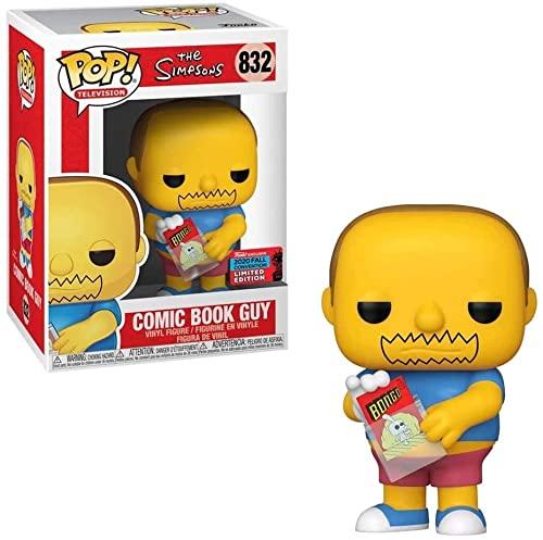 POP! Funko Fall Convention 2020 Comic Book Guy
