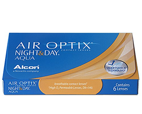 Air Optix Night & Day Aqua Monatslinsen weich, 6 Stück / BC 8.6 mm / DIA 13.8 / -1.75 Dioptrien - 4