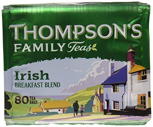 Thompsons Punjana Irish Breakfast Tea 80 Btl. 250g
