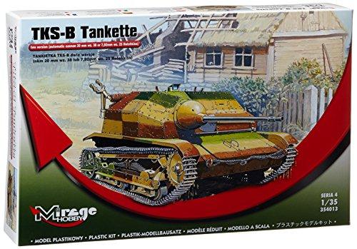 Mirage Hobby 354013, 1:35 échelle, TKS-B Tankiette, kit de modèle en plastique