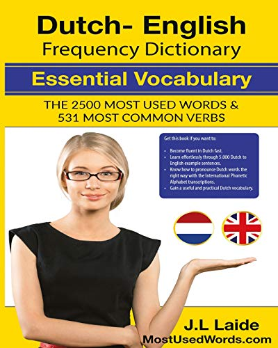 Dutch English Frequency Dictionary - Essential Vocabulary: 2500 Most