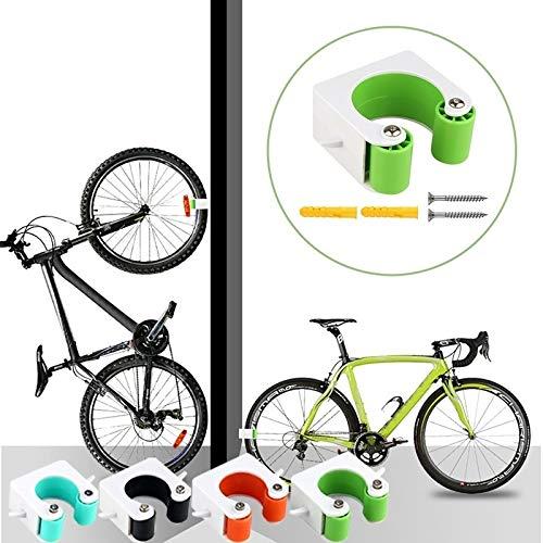 Speedy Panther Fahrrad-Wandhalterung, Haken für Rennrad, Parkplatzschnalle, tragbar, Wandhalterung, vertikale Halterung für Rennrad (blau, Mountainbike)