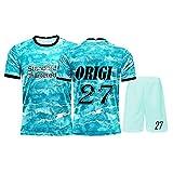 YUUY Divock Origi#27 Uniformes de fútbol for Hombres, Trajes de Jersey, Chalecos Deportivos, Que absorben el Sudor y de Secado rápido, jóvenes/niños (Color : G, Size : Adult-XL)
