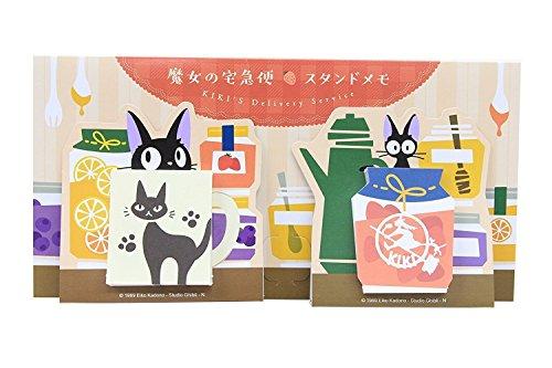 movic Nicky, La Aprendiz de Bruja Studio Ghibli Stand Memo Pad 2 Patrones de 35 Hojas Cada una