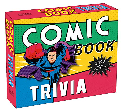 Comic Book Trivia 2020 Day-to-Day Boxed Calendar