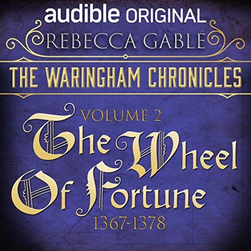 The Waringham Chronicles, Volume 2: The Wheel of Fortune audiobook cover art