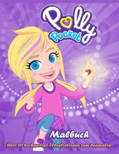 Polly Pocket: Malbuch, Über 30 hochwertige Illustrationen zum Ausmalen