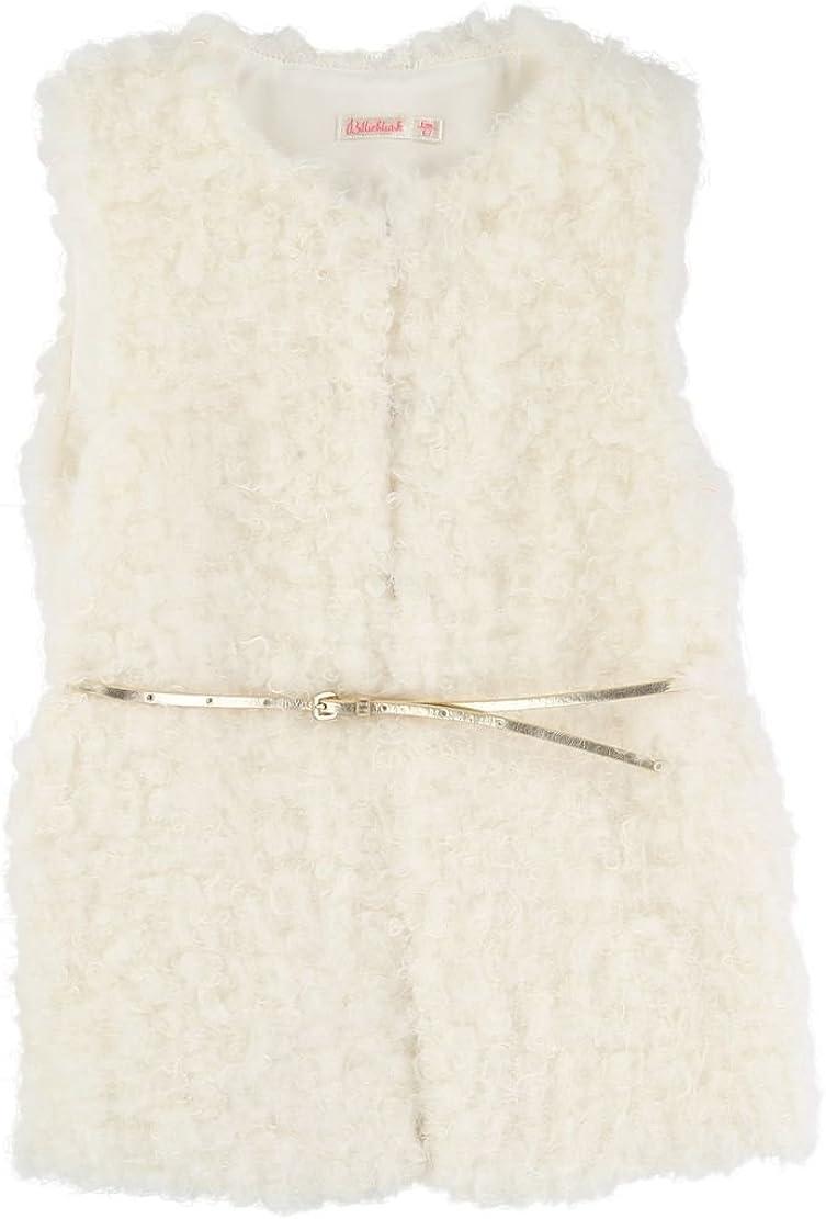 Billieblush Faux Vest & Belt