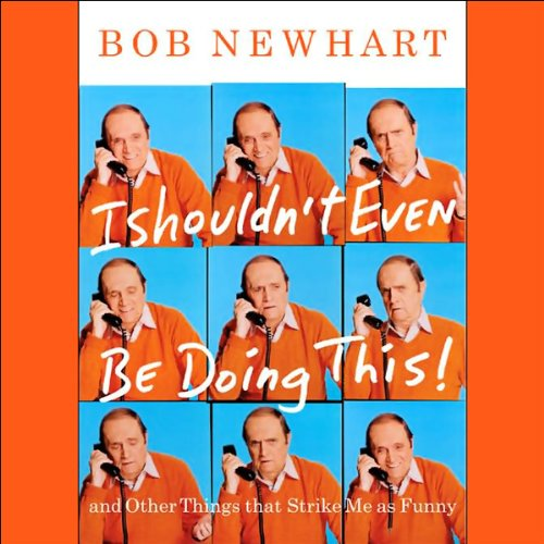I Shouldn't Even Be Doing This! audiobook cover art