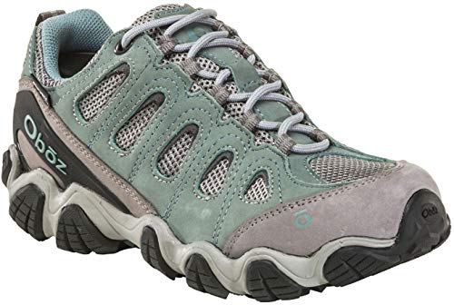 Oboz Sawtooth II Low B-Dry Hiking Shoe - Women's Mineral Blue 11