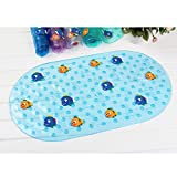 zfq Duschmatte Baby Sauger Baby-Matte Mit Bad Anti-Side-pad Badewanne In Kinderbecken Kunststoff Mutter Und Kind 69 * 39cm Clown Fish