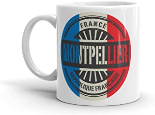 Montpellier France 10oz Coffee Tea Mug #6024