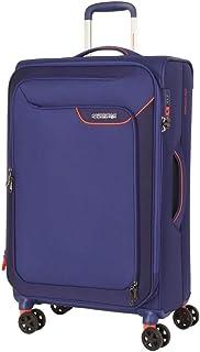 American Tourister - Applite 4.0 82cm Large 4 Wheel Soft Suitcase - Blue