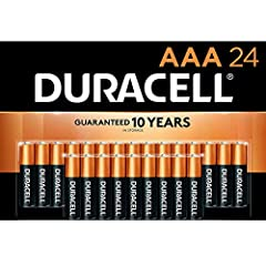Duracell AAA Batteries: The Duracell CopperTop Triple A alkaline battery is designed for use in household items like remotes, toys, and more. Duracell guarantees these batteries against defects in material and workmanship. Should any device be damage...