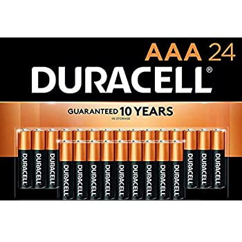 Duracell - CopperTop AAA Alkaline Batteries - Long Lasting All-Purpose Triple A Battery for Household and Business - 24 Count