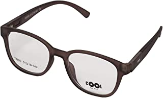 Oval Eyewear Frame for Unisex by Cool, FA 5003 Clear