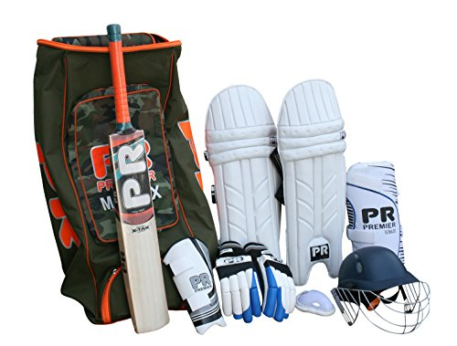 PR BAT- SH League Senior Cricket kit for 14 Years and Above