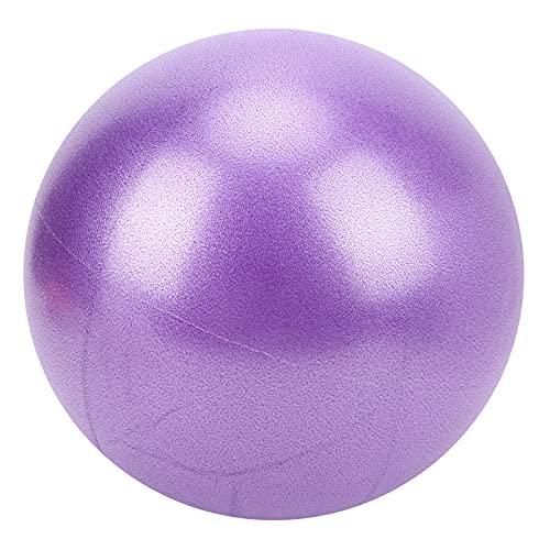 BOTEGRA La Bola de la Yoga, esmerilada es Bola del Ejercicio de los 25cm compresiva y a Prueba de explosiones para el Ejercicio(Púrpura)