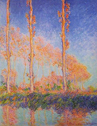 Das Museum Outlet–Claude Monet–Poplars At Philadelphia–A3Poster