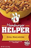 Betty Crocker Hamburger Helper, Mexican, Chili Macaroni, 5.2-Ounce (Pack of 6 ) by Hamburger Helper