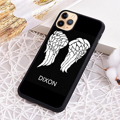 Daryl Dixon Walking Waling Wings Funda telefónica para iPhone 5S SE 6 6S 7 8 Plus X XR XS 11 12 Pro MAX-1_para iPhone 11