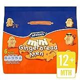 McVitie s Mini Gingerbread Men 6 x 25g