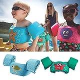 Manguitos bebé para Aprender a Nadar gradualmente, para niños de 1 a 7 años, Traje de Espuma...