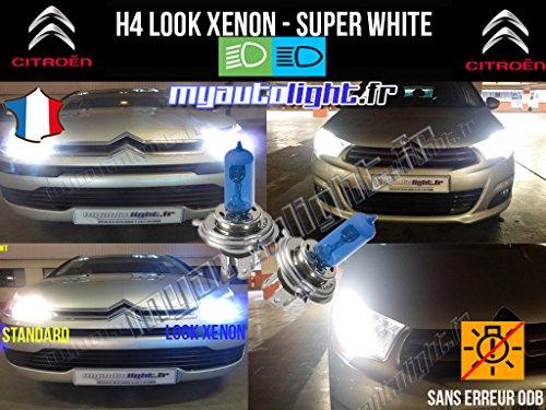 MyAutoLight - Pack ampoules H4 blanc xenon - Nemo