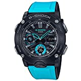 Men's Casio G-Shock Analog-Digital Carbon Core Guard Blue Resin Band Watch GA2000-1A2
