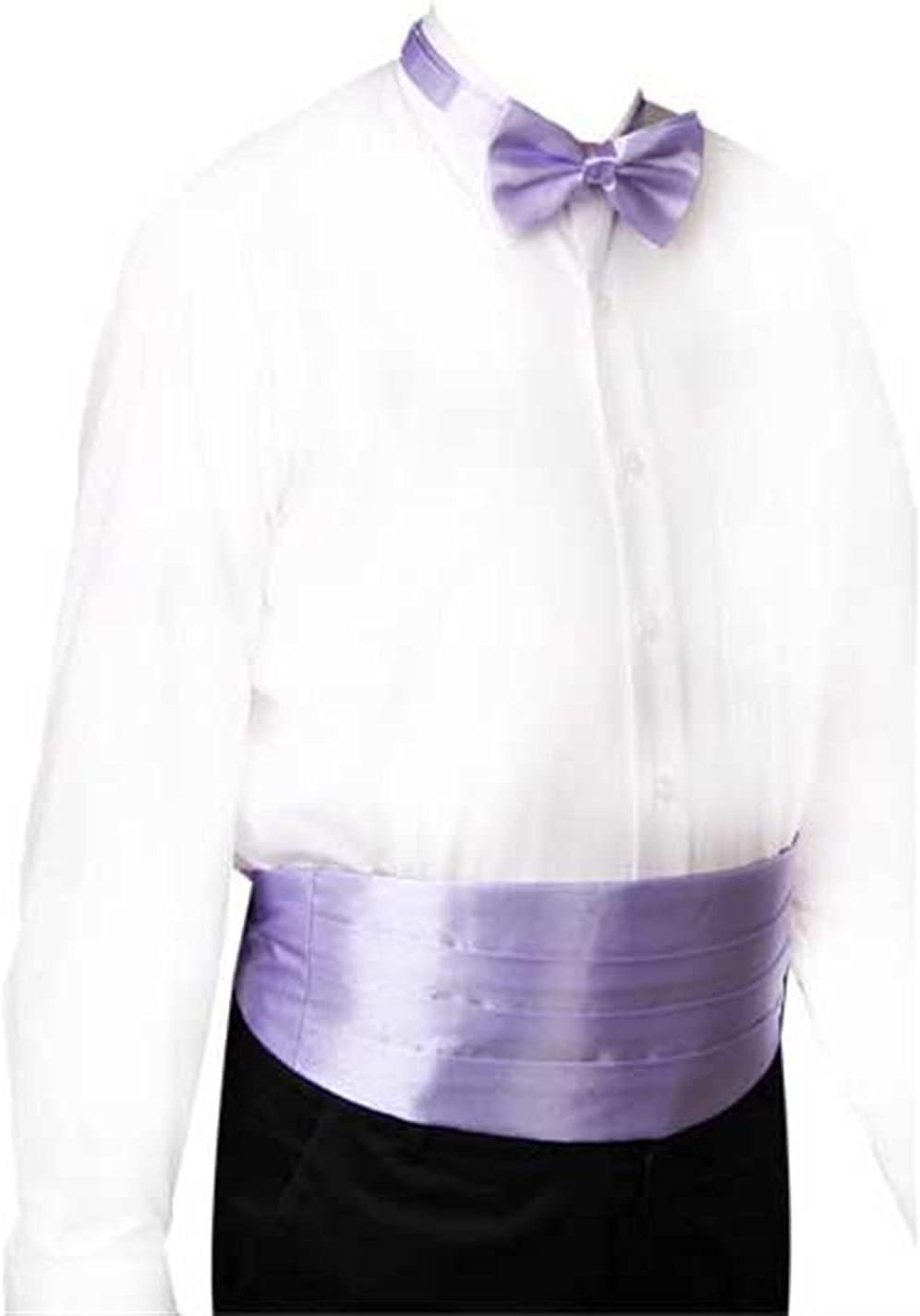JJZXC Gentleman Solid Wide Silk Satin Elastic Belly Band Tuxedo Cummerbund Commercial Banquet Model Business Elite (Color : A)