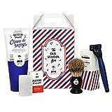 Monsieur Barber - Estuche regalo para hombre, diseño de Barbe OLD SCHOOL