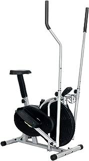 YIJIAHUI Elípticas Equipo de Ejercicio for el Entrenador de máquina elíptica de Oficina en casa Compact Life Fitness Entrenador Cardiovascular Ideal (Color : Negro, tamaño : 91x50.5x152.5cm)