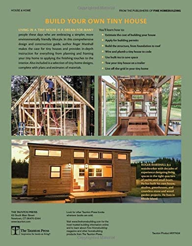 How To Build Your Own Tiny House Marshall Roger Amazon Com Au Books