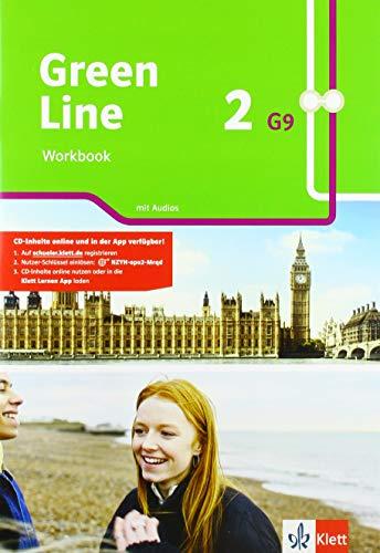 Green Line 2 G9: Workbook mit Audios Klasse 6 (Green Line G9. Ausgabe ab 2019)