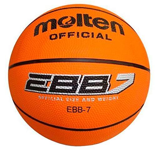 MOLTEN B7R2 Balon Baloncesto, Adultos Unisex, Naranja, 7