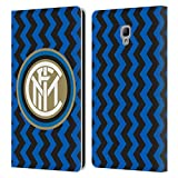 Head Case Designs Oficial Inter Milan Home 2020/21 Crest Kit Carcasa de Cuero Tipo Libro Compatible con Samsung Galaxy Tab A 8.0 2017
